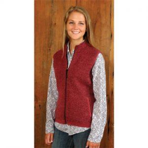 Women's Alpaca Zipper Vest