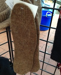 Alpaca Felted Insoles
