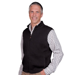 Men's Alpaca Zipper Vest