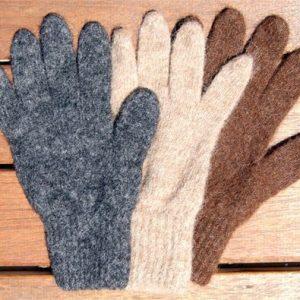 Alpaca Fur Gloves