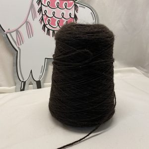 Black Alpaca Yarn
