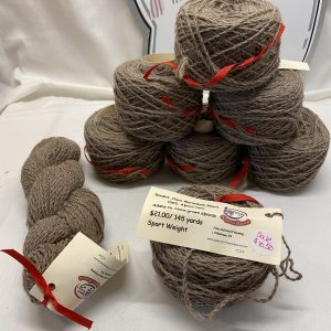 Raw Sport Weight Alpaca Yarn