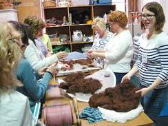 Processing Alpaca Fiber in PA