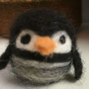 Handmade Alpaca Penguin Toy for Sale