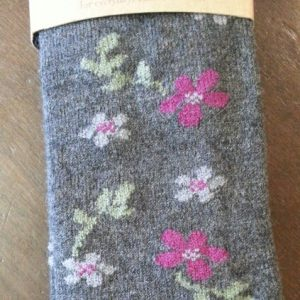 Flower Alpaca Wool Sock for Sale in PA