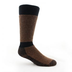 Alpaca Fur High Calf Boot Sock