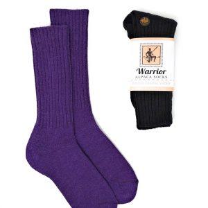 Casual Ribbed Alpaca Socks